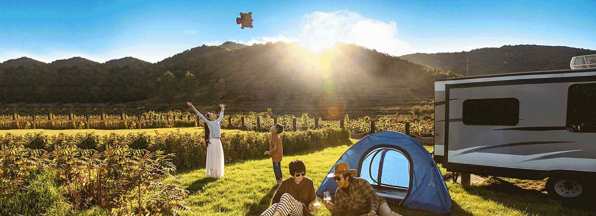 美拍分享美好22p 在海坨山谷,生活就是与自然和家人长久相伴