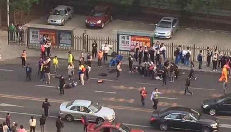 大连发生重大车祸 大连7名学生被撞飞事件最新消息 车祸惨烈一人大