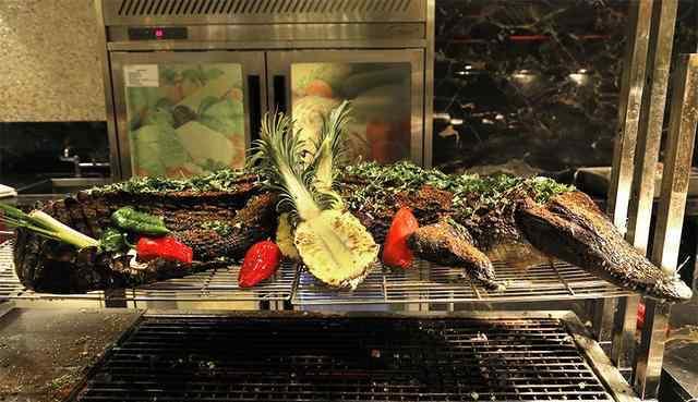 鳄鱼肉价格 悦来温德姆酒店鳄鱼滋补自助晚餐上线
